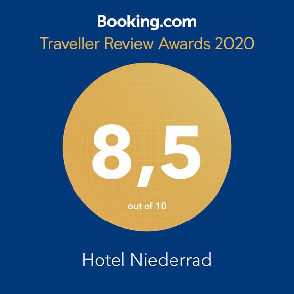 booking awards Hotel Niederrad